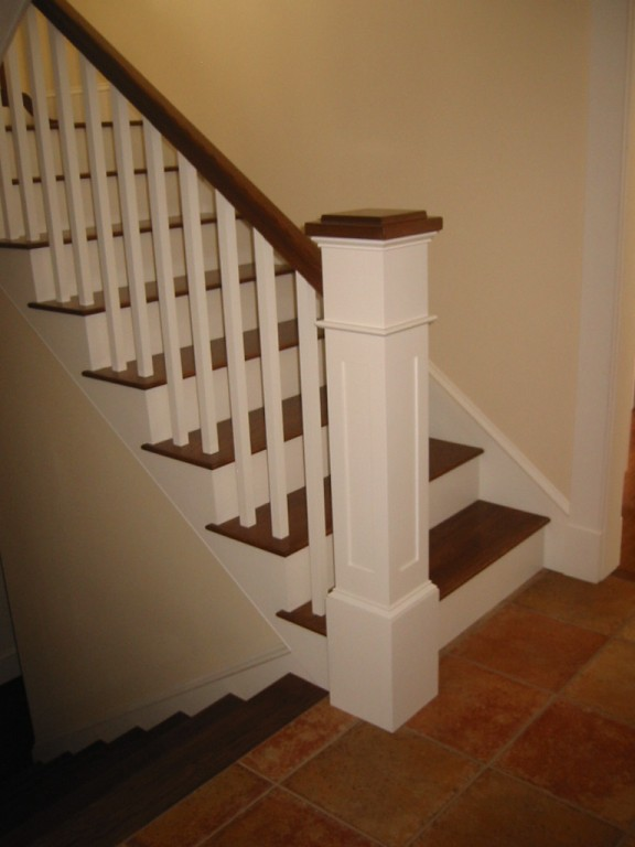 Newel post for Interior post designs